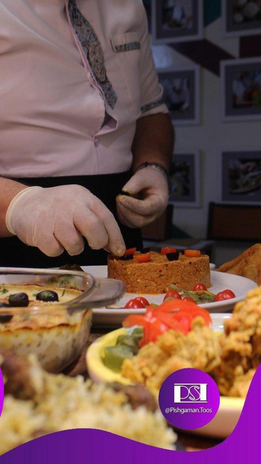 اولین دوره ی کلاس آنلاین آشپزی در تاریخ های 27 و 28 ام فروردین با تدریس شف مقدم