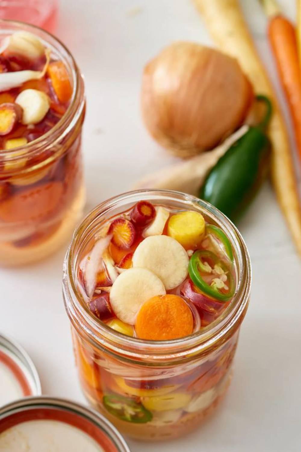 ترشی هویج مکزیکی ، با طعمی که در خاطر میماند