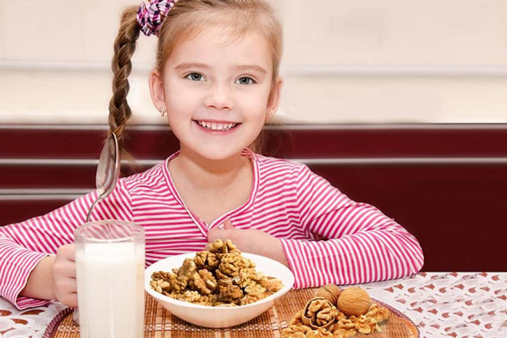 خواص گردو برای سلامتی بدن کودکان