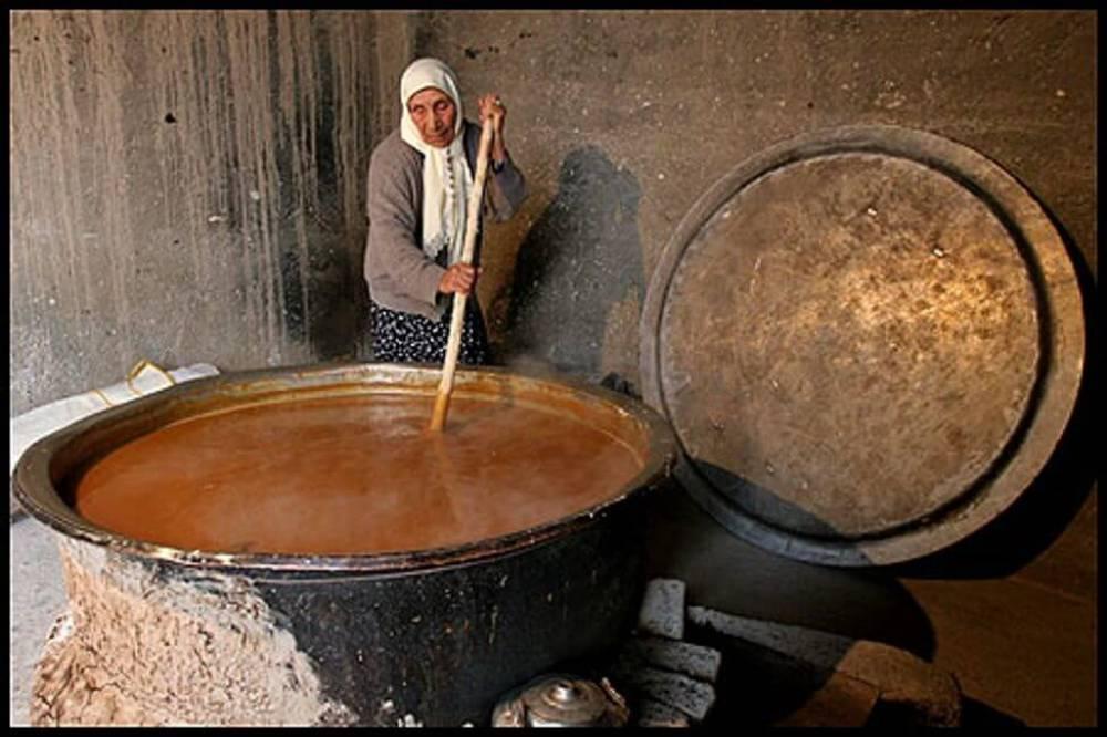 تاریخچه سمنو پزان در ایران