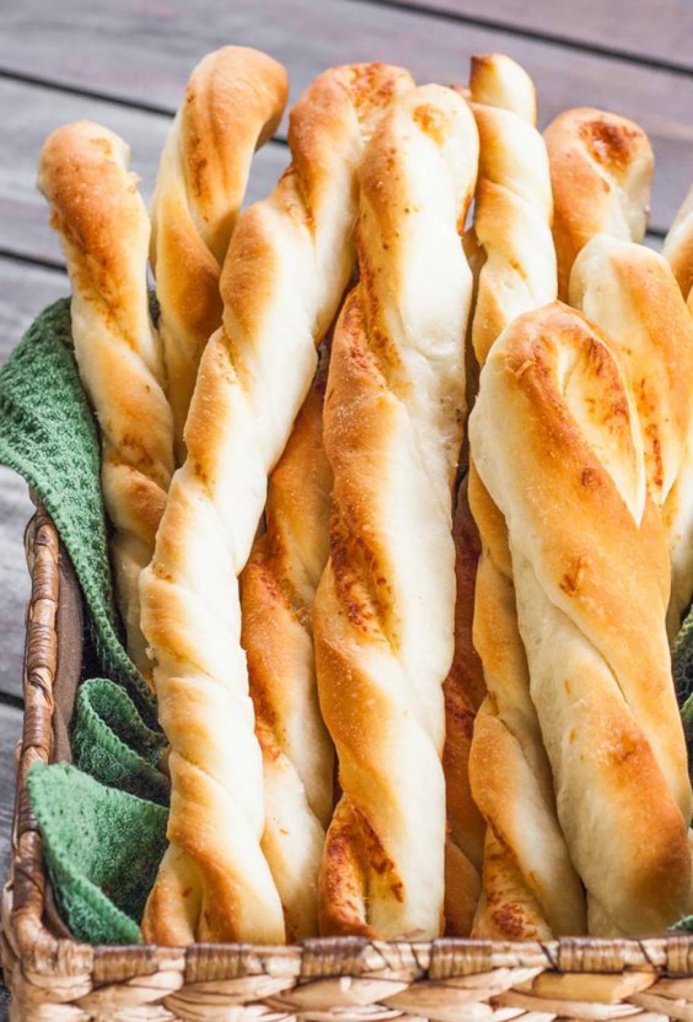 نان طعمدار پارمزان